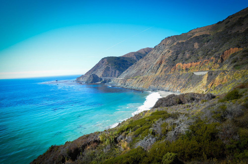 There were lots of roadside stops to take pictures on our way to Big Sur.