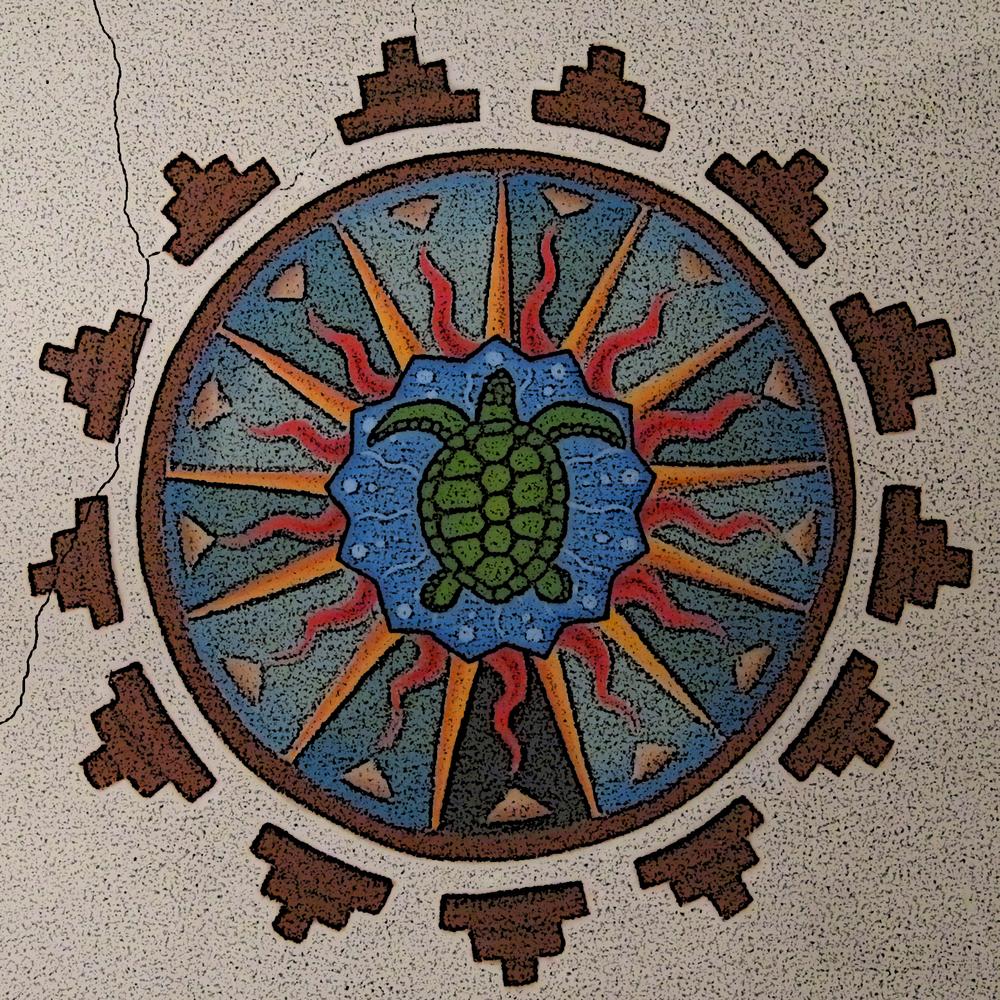 Tortuga Mandala created by Ramona Snow Teo