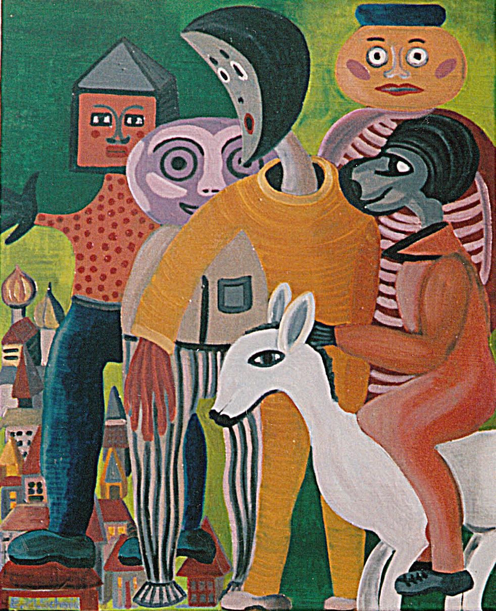 Homage a Tamayo by Eliza M Schmid