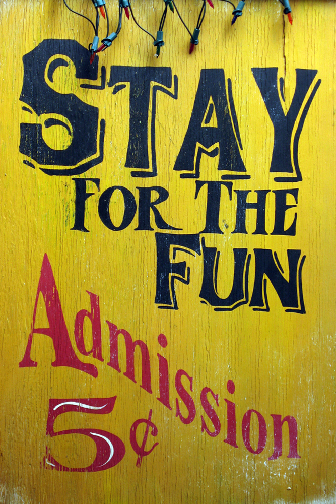 Stay for the Fun by Elzbieta Kaleta