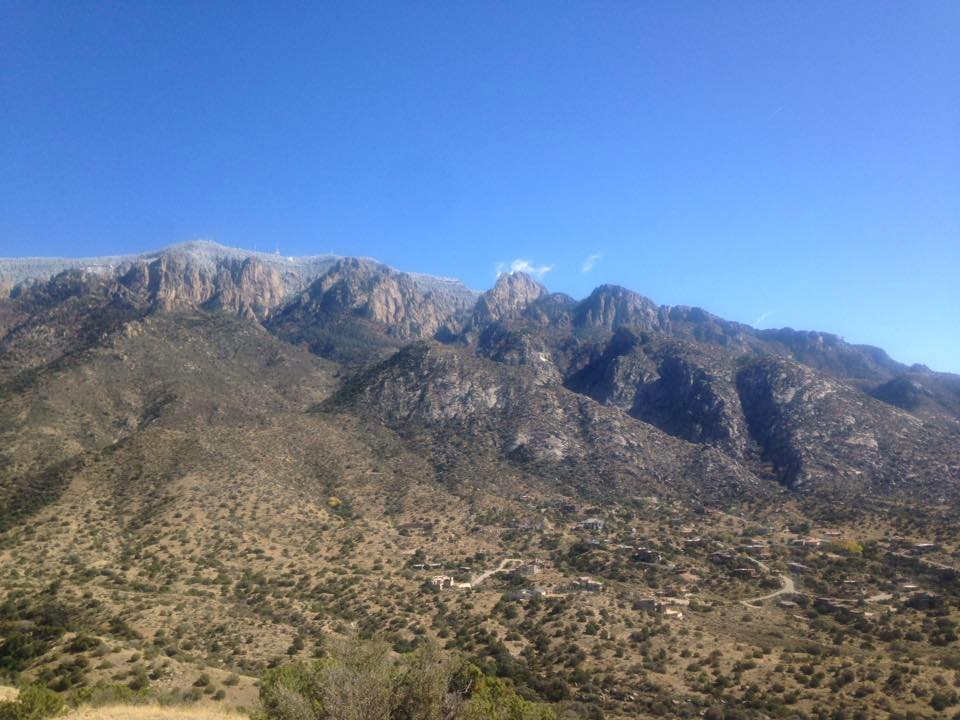 Meanwhile.... - The call for art for February has begun.  The theme for the 2018 February show is the Sandia Mountains.  Please consider submitting art in any medium that is created about or inspired by our unique Sandia mountains.  Photos, paintings, drawings, fiber art, poetry, stories, sculpture- the sky's the limit!  Go to the Sandia Art tab for more details.Have fun creating and we will see you in the new year!