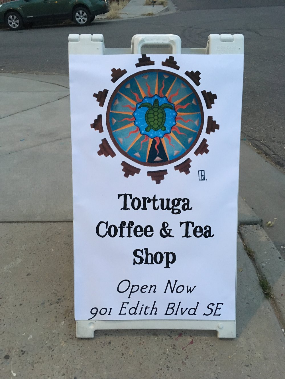 Coffee & Tea @ Tortuga - Open hours Friday, Saturday & Sunday 7-10am