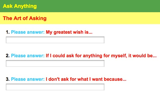 Breeze posted these three question an anonymous online survey in the spring of 2015.  The surprising answers prompted an incredible interdisciplinary socially engaged artwork, that included growing and giving away medicine plants, gathering hundreds of in person responses, and planting healing gardens--all in the summer of 2015.  Learn more here:  www.http://dreamsgrow.blogspot.com/
