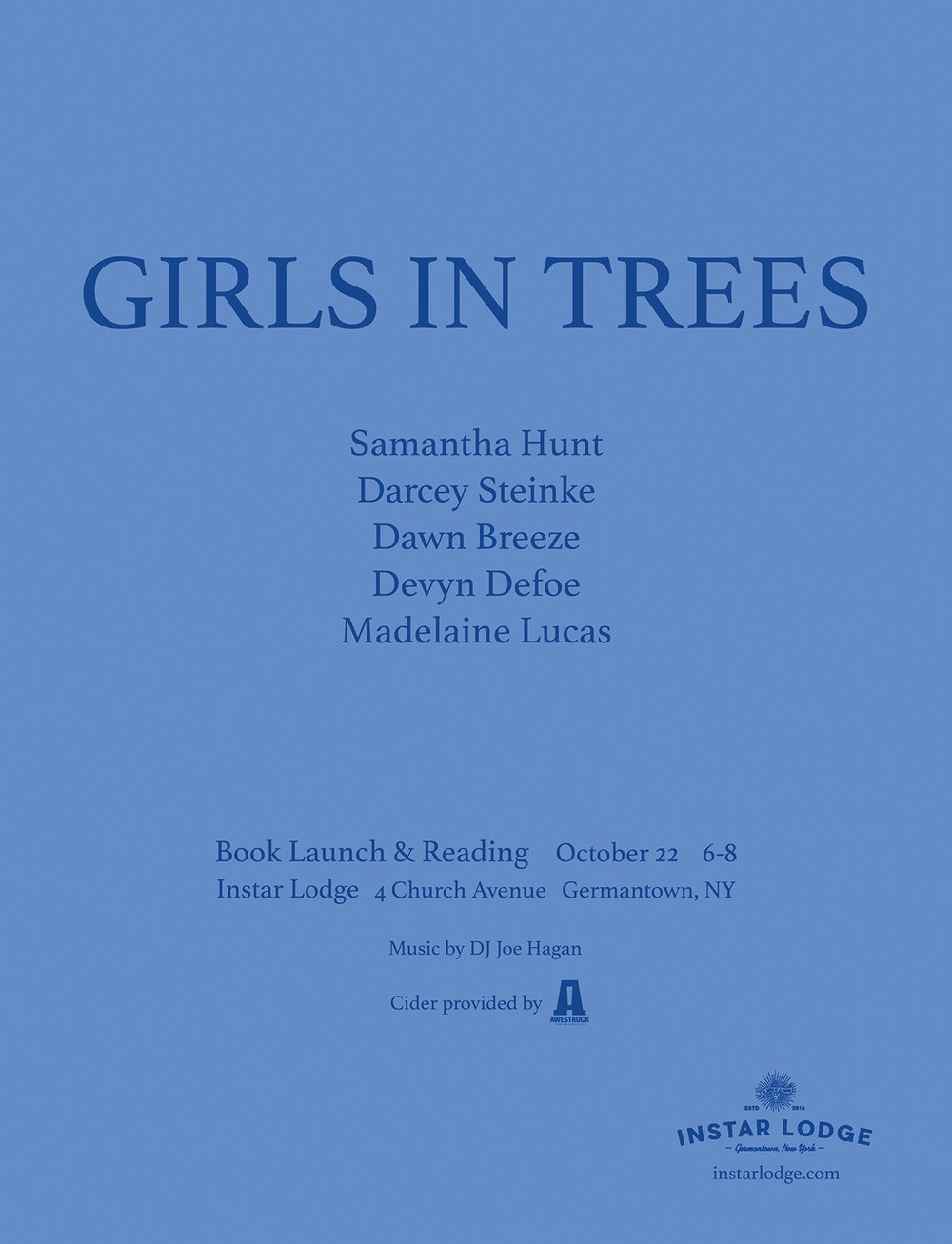 Join me at Instar Lodge.  I will be reading a new short story titled, Giving Tree.  The event is going to be a wonderful party in celebration of launching this beautiful limited edition artist book edited by Rebecca Godfrey and featuring works from over 33 artists.