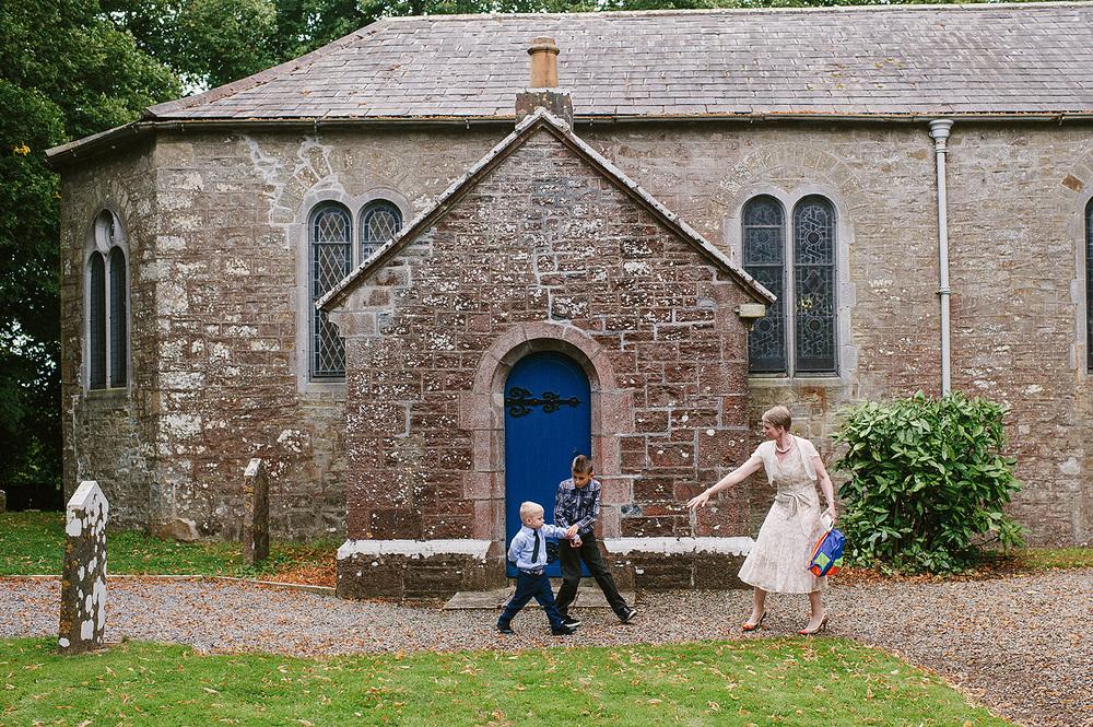 Irish Church Wedding