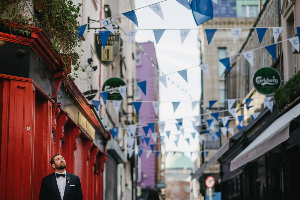 Outdoor wedding in Dublin Ireland