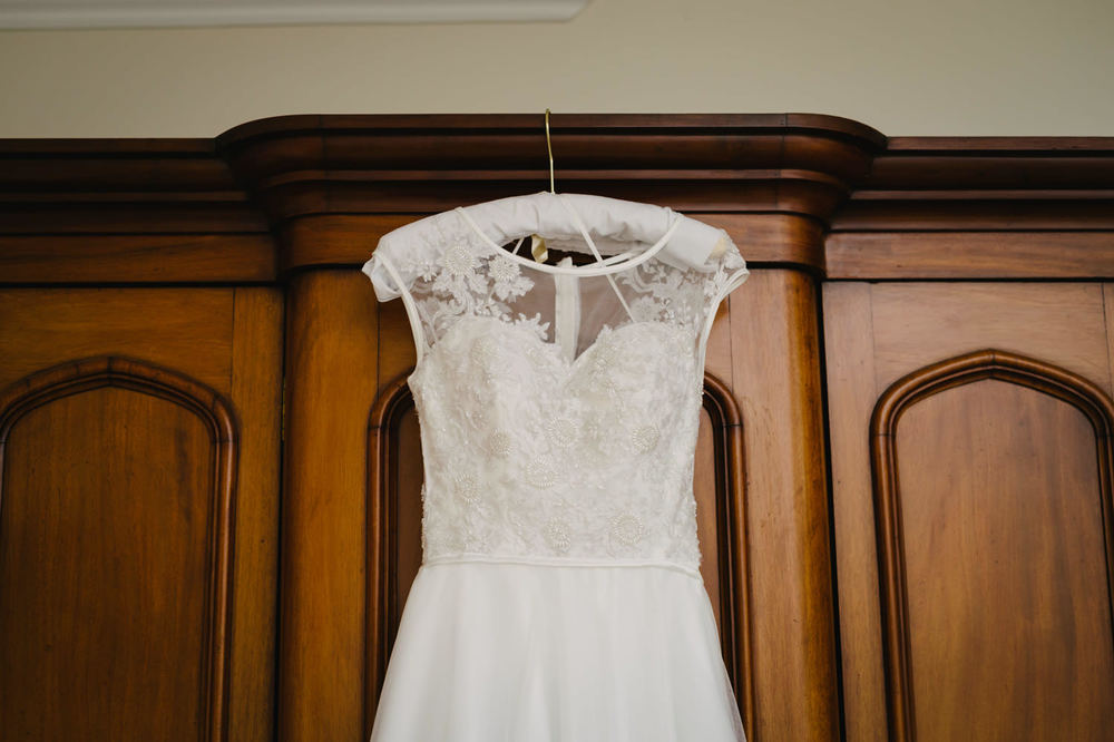 Handmade wedding dress Ireland