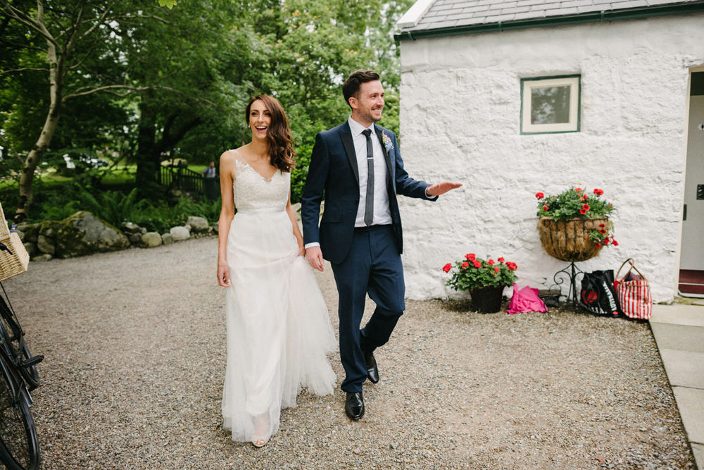 Wedding photography Northern Ireland Mary Catherine Cottage Mourne Mountains