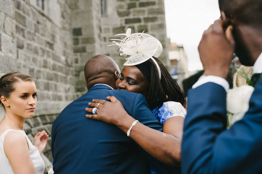 Dublin City Wedding Photos St Patricks Cathedral, Kenyan wedding