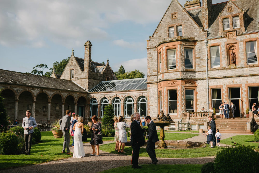 Castle Leslie Wedding Photography.  Destination Wedding Photographers Northern Ireland.