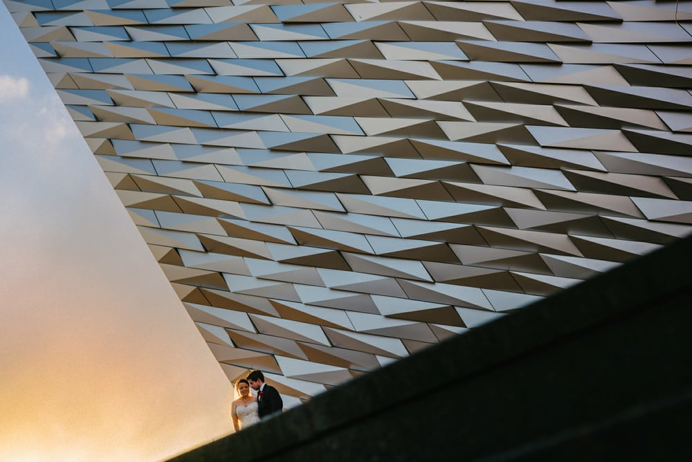 Titanic Belfast Wedding Photos