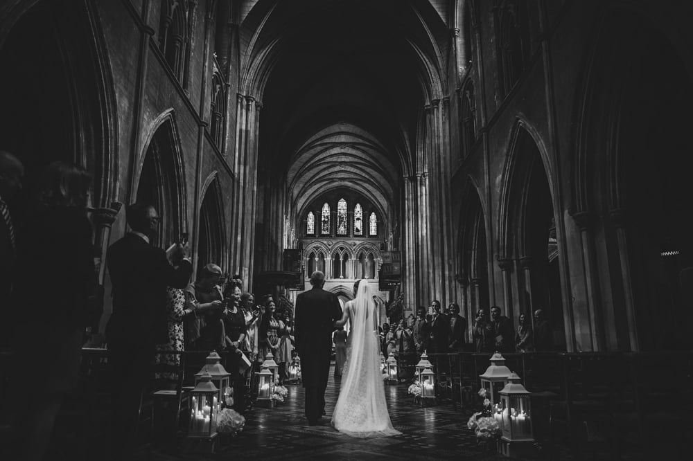 Booking St. Patrick's cathedral dublin for a wedding