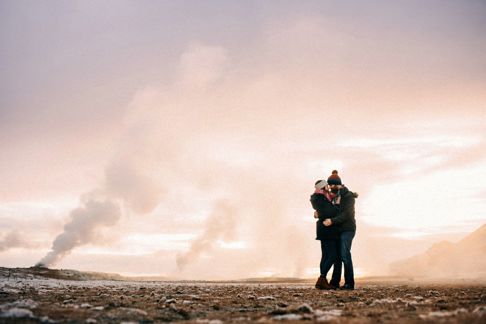 English Speaking wedding photographers Iceland