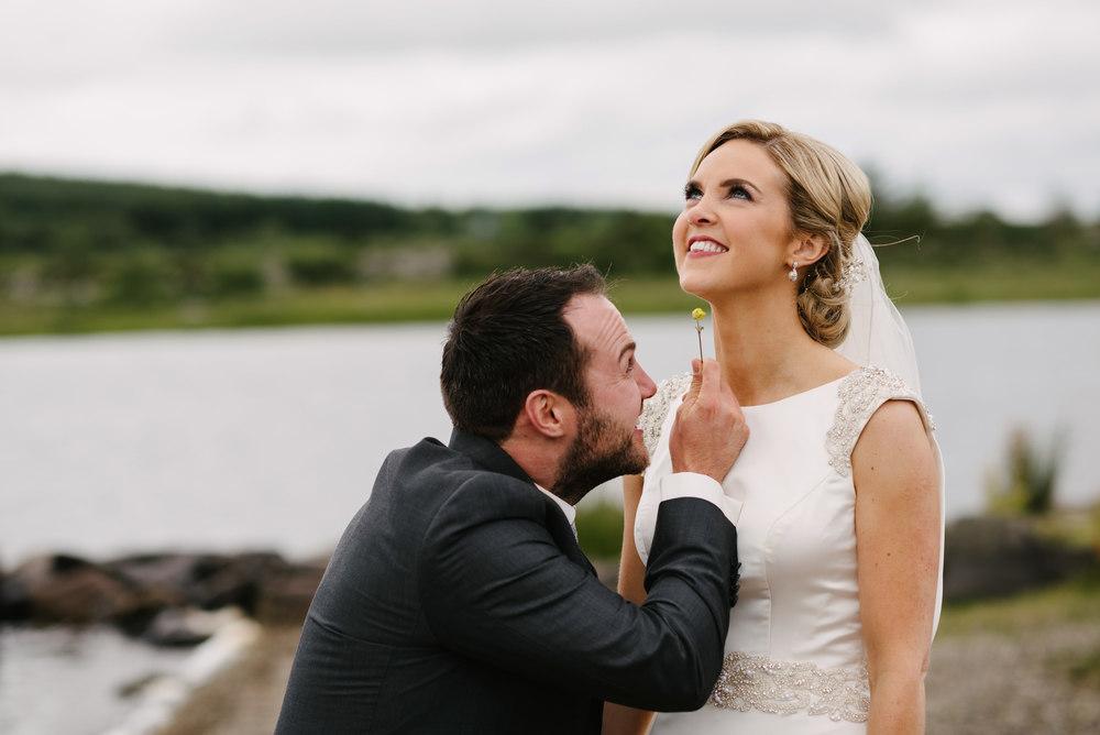Castle Bellingham wedding photos.