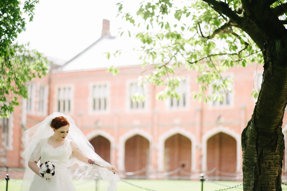 Belfast wedding Queen's University
