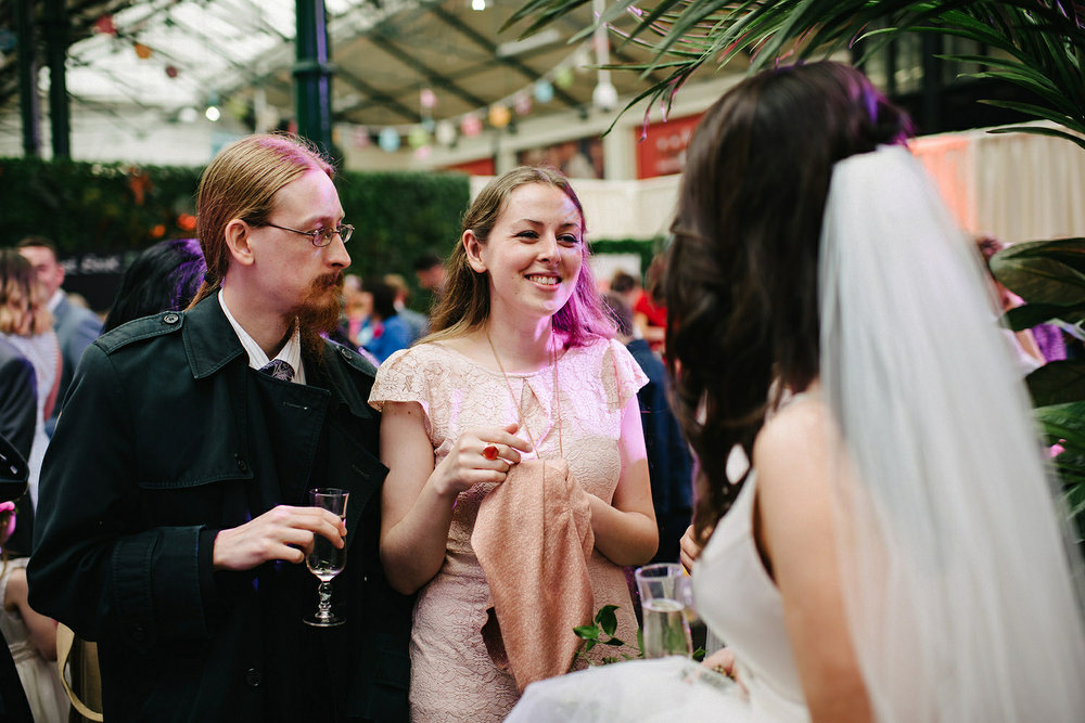 St. Malachy's Church George's Market Wedding Photos Belfast