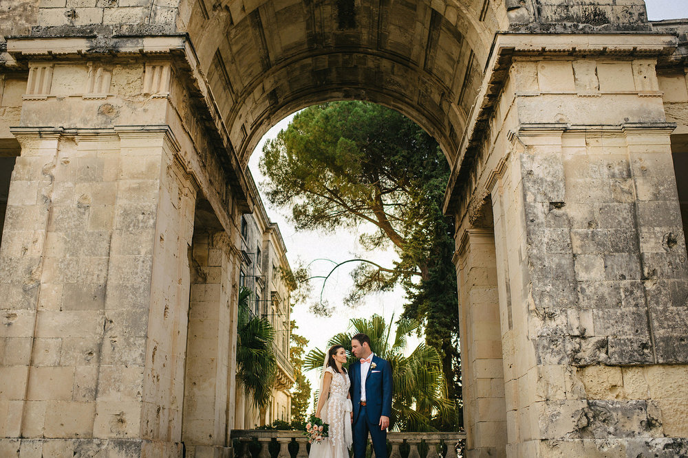 Eva and Stathis Corfu Wedding Photos, Danilia Village film location of the Durrells. English speaking wedding photographers Greece, Corfu.