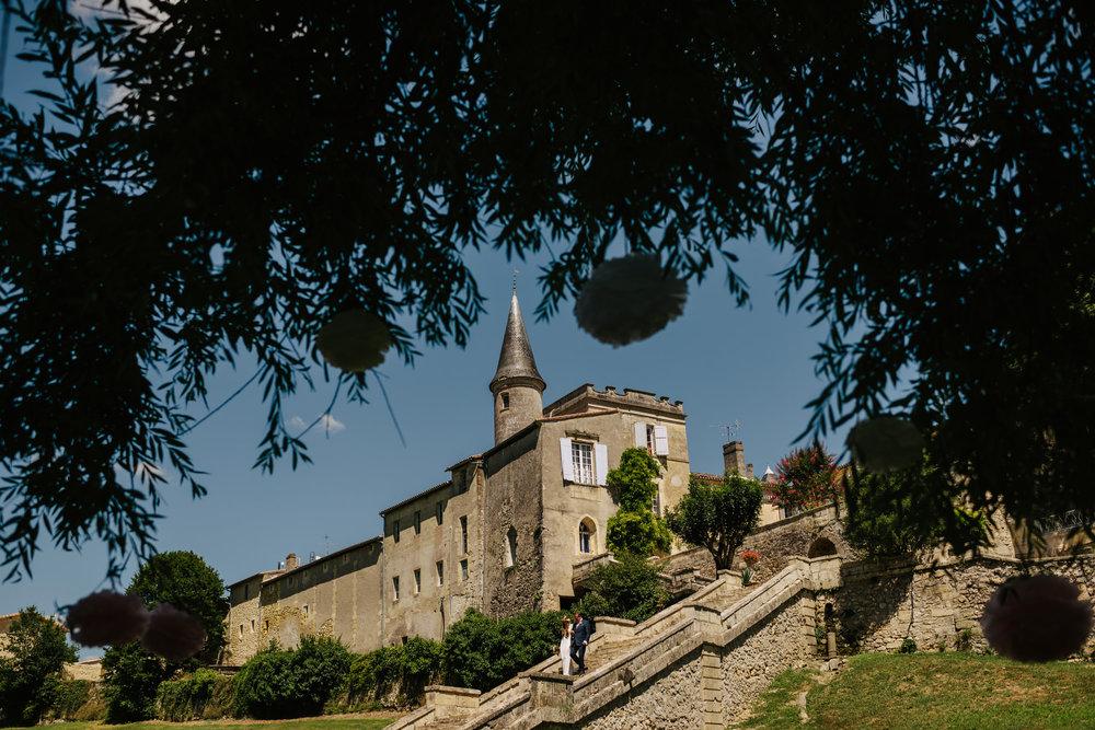 A French Chateau is a wonderful venue for a destination wedding.