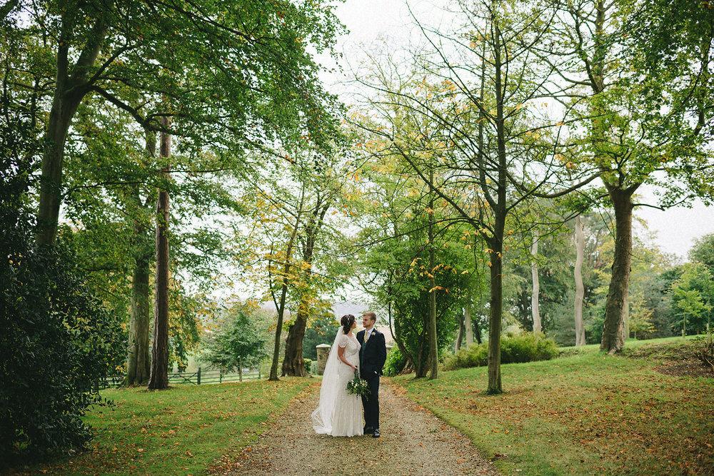 Caroline Stevens Peter Morgan wedding Tullyveery House Northern Ireland