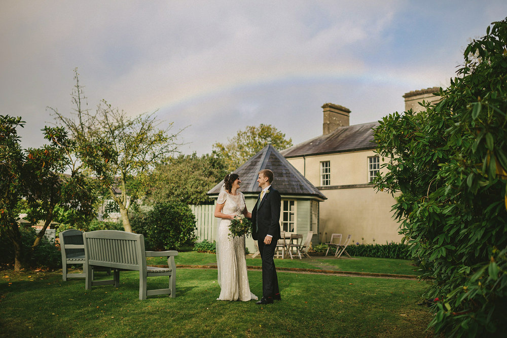 Caroline Stevens Peter Morgan wedding Tullyveery House Northern Ireland