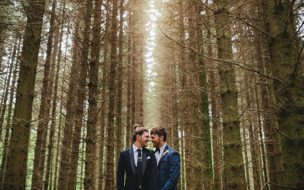 Same Sex wedding. Gay wedding. Castle Leslie. Northern Ireland. Ireland.