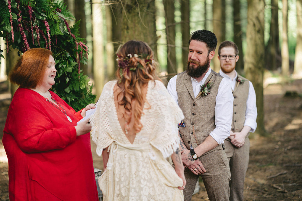 Humanist wedding in Northern Ireland