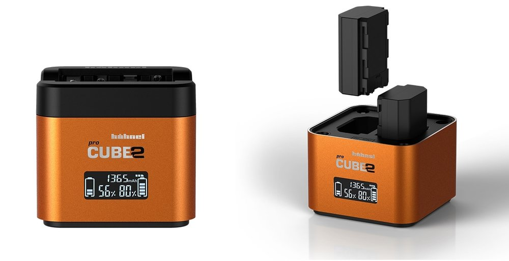 The Hahnel ProCube2 charger for Sony.