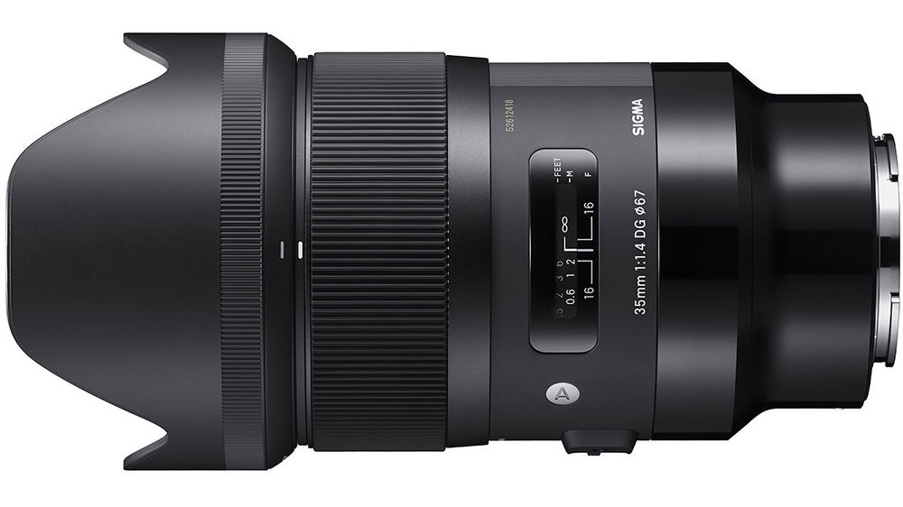 The Sigma 35mm Art. A hefty lens but incredible value for money.