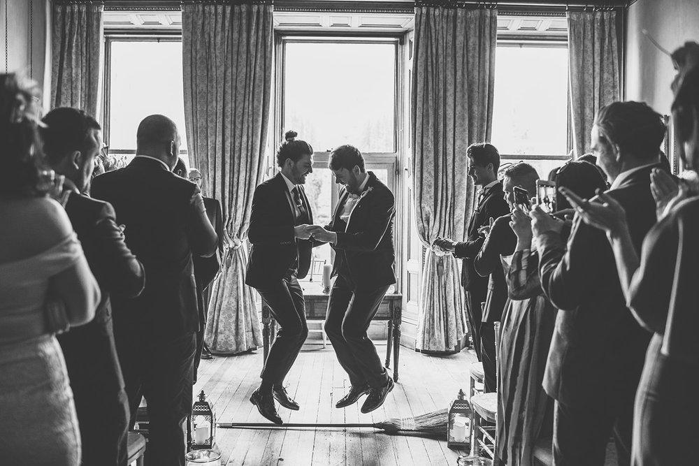 Castle Leslie wedding photos. Northern Ireland. Ireland.
