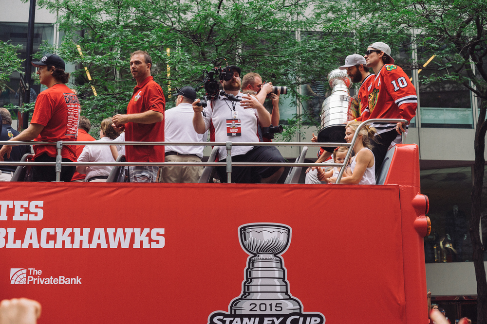 Sharpie with the cup riding shotgun.