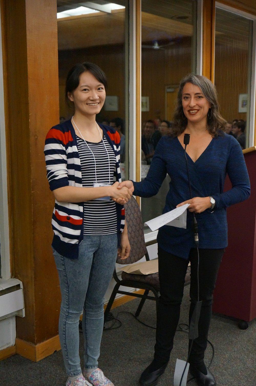 Xuefei Yuan and Dr. Leah Cowen