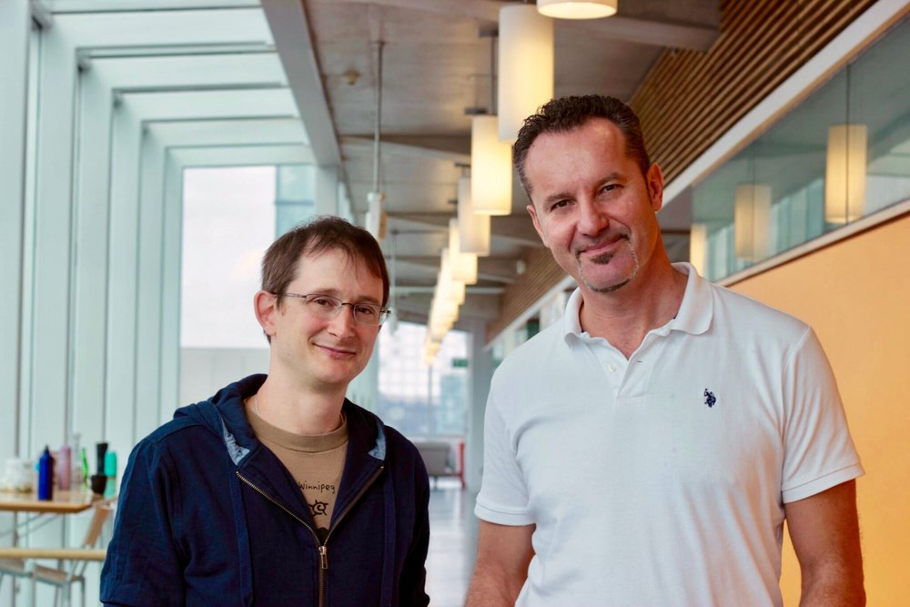 Jamie Snider, Senior Eesearch Associate, and Igor Stagljar,Professor in the Donnelly Centre