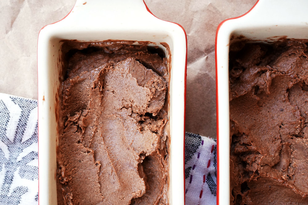 Triple Chocolate Banana Ice Cream (Vegan, GF, Paleo)