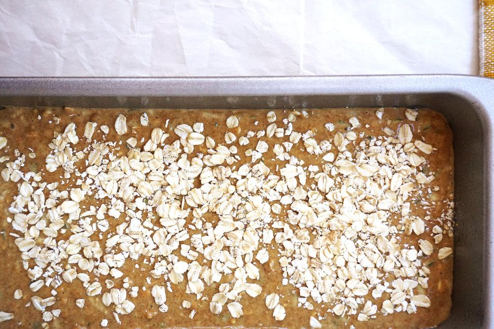 Whole-Wheat Zucchini Bread (in a blender!)