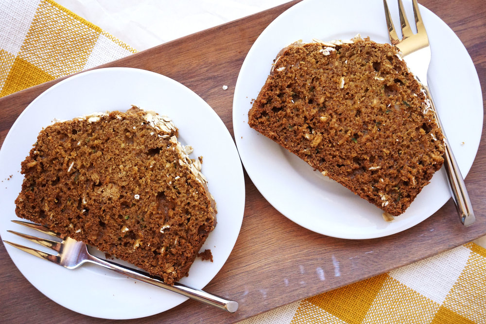 Whole Wheat Zucchini Bread (in a blender!)