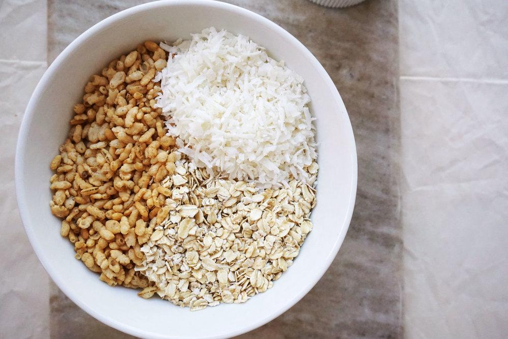 chocolate granola ingredients bowl.jpg