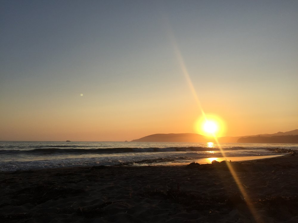Sunset in Shell Beach, CA. Probably my favorite night-time thing... ever.