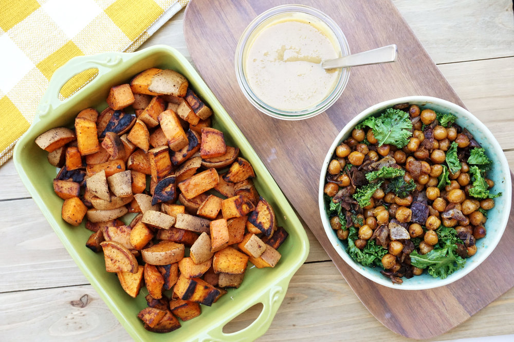 Cajun-Spiced Crispy Chickpea Sweet Potato Stir-Fry (Vegan, GF)