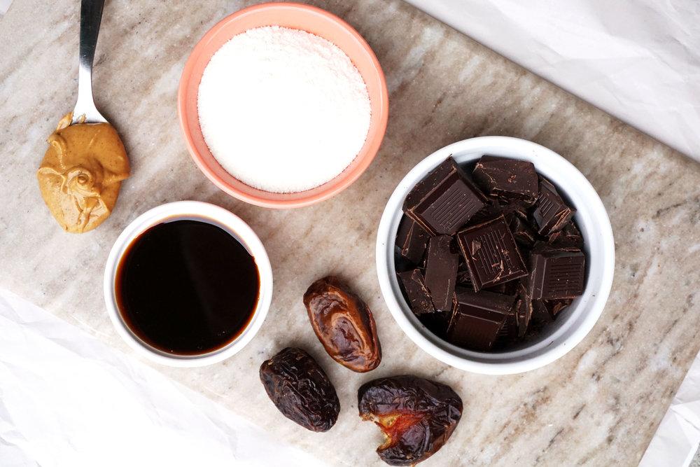 Homemade Twix Cups (Vegan, Paleo)