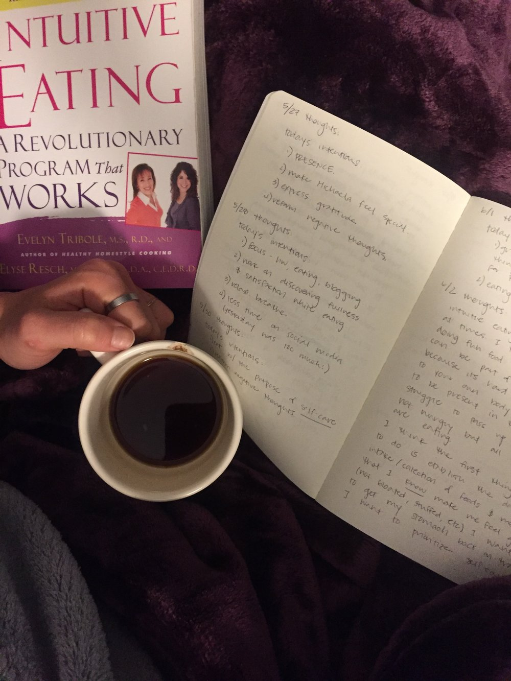 5 Things (Workouts, Friends and Food, Morning Reading, Blogging)