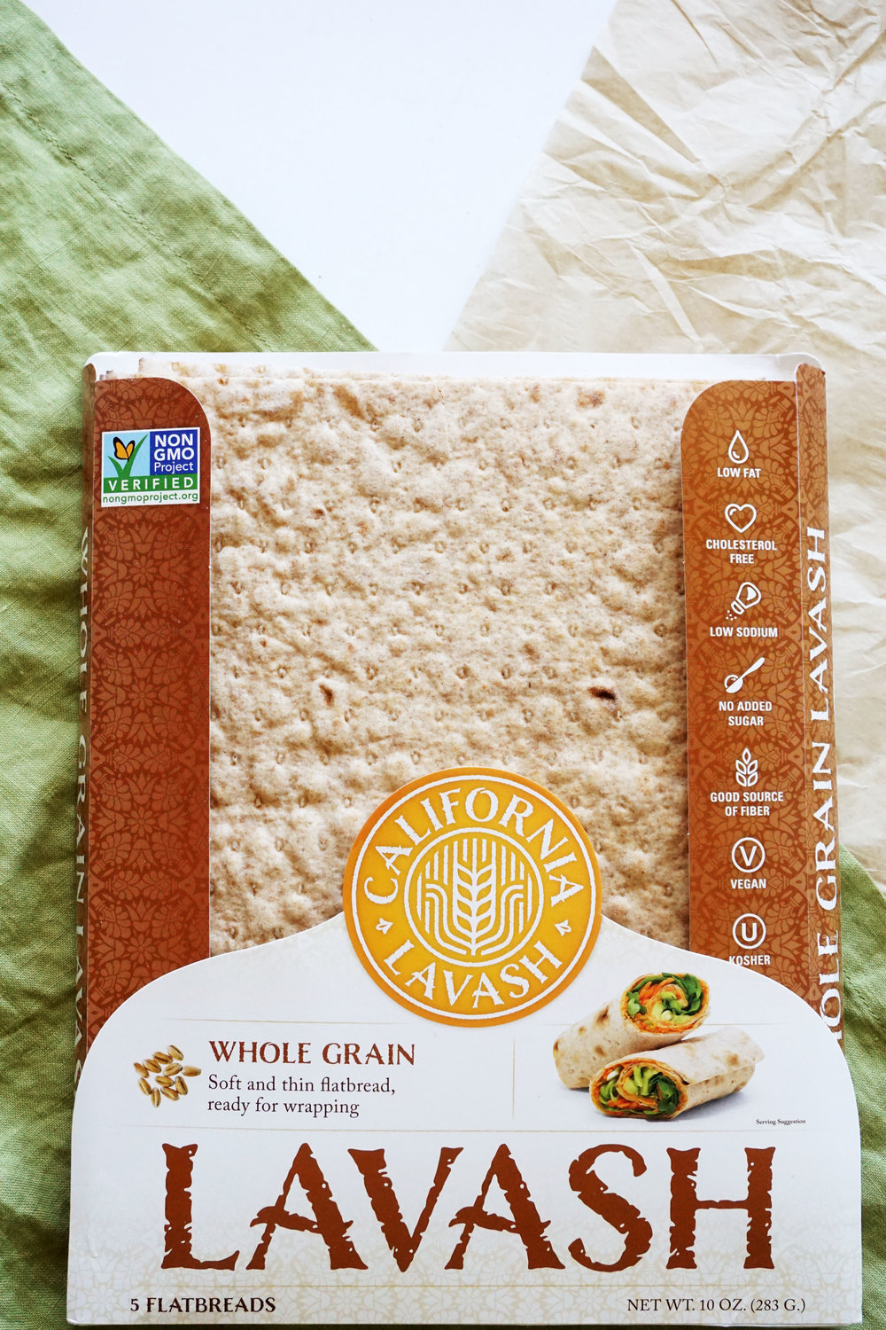 California Lavash Whole-Grain Flatbread
