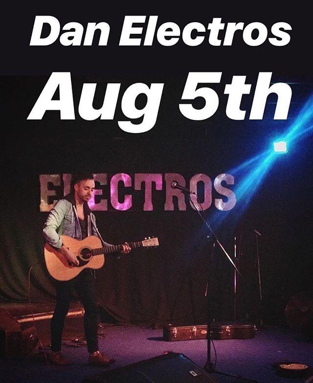Playing Industry Night @danelectrosbar Aug 5th  With: @andrewjamestx & @patricjohnstonmusic
