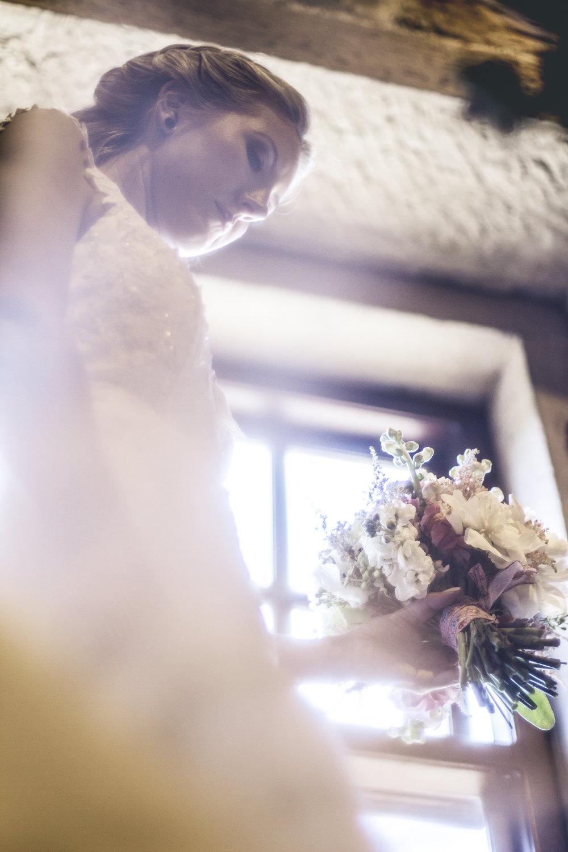 rustic wedding bouquet crosby