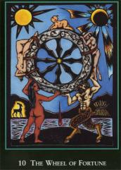 World Spirit Tarot Wheel of Fortune
