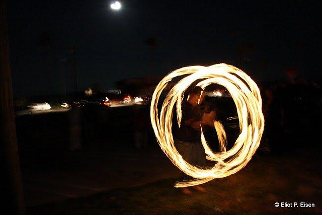 Jack Spinning Poi