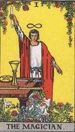 Major Arcana Tarot Card Number I: The Magician
