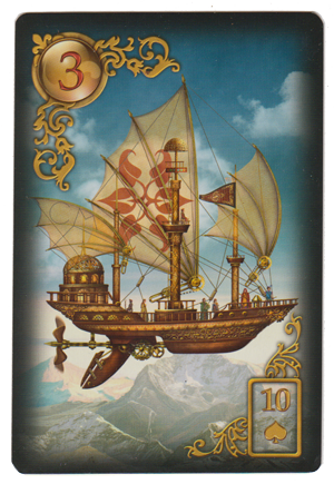 Ship, from Gilded Reverie Lenormand, by  Ciro Marchetti .