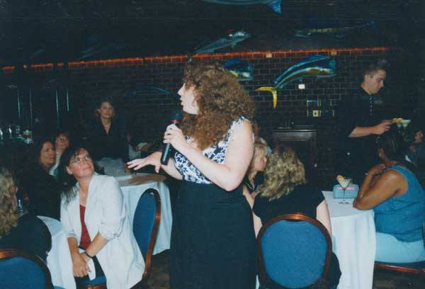 Psychic Gallery at Soundings Lounge in Mystic, CT, 2004.