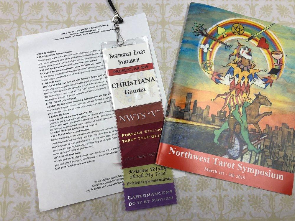 Northwest Tarot Symposium 2019 - My Adventure to Portland