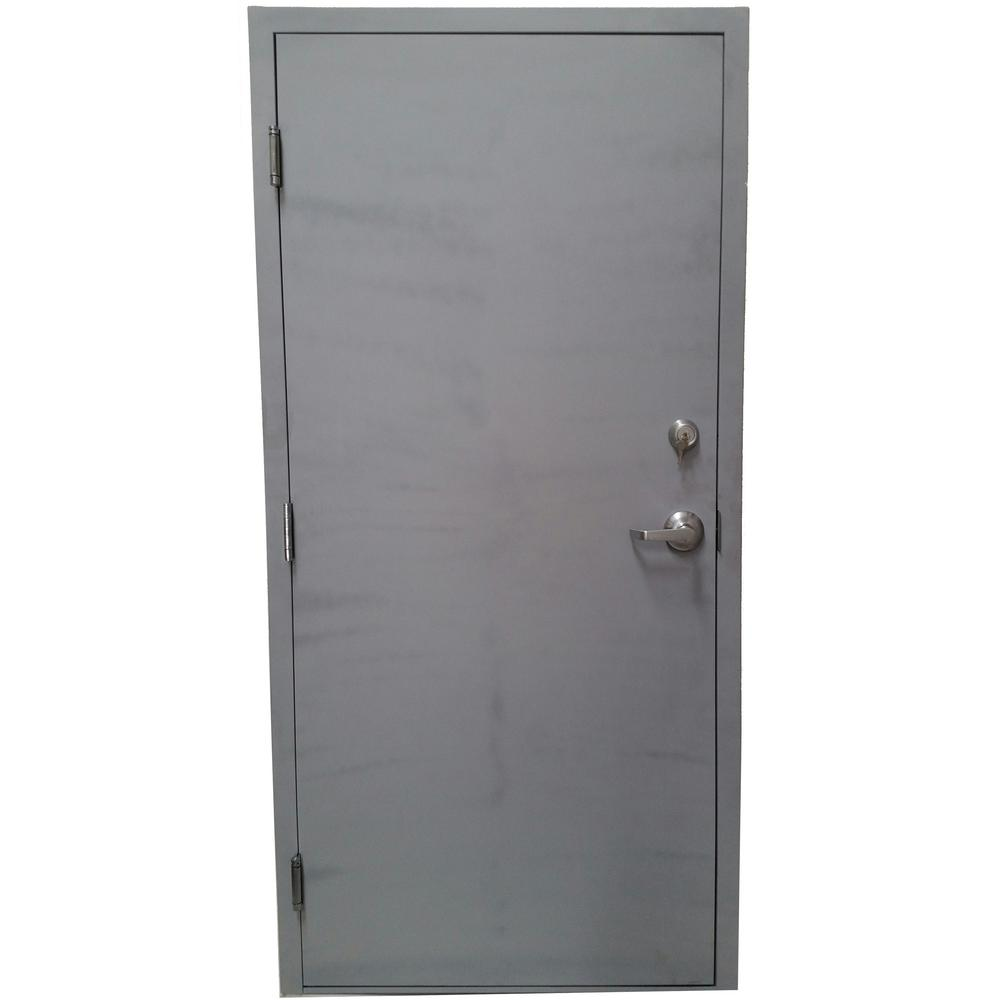 the most standard steel door